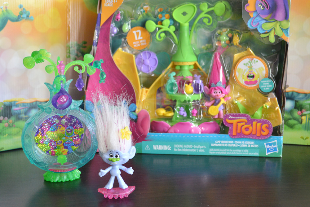 Guy Diamond trolls toy set