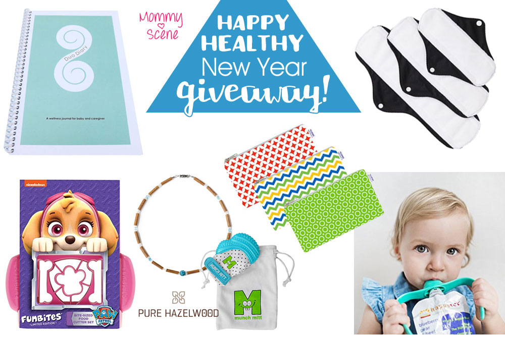 Happy Healthy New Year Giveaway – Ended
