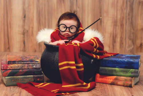 Baby Harry Potter costume - Inspiring baby costumes