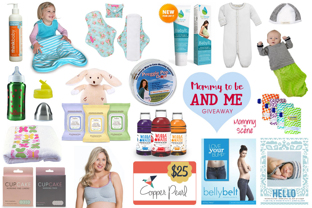 Mommy-To-Be & Me Giveaway – Ended