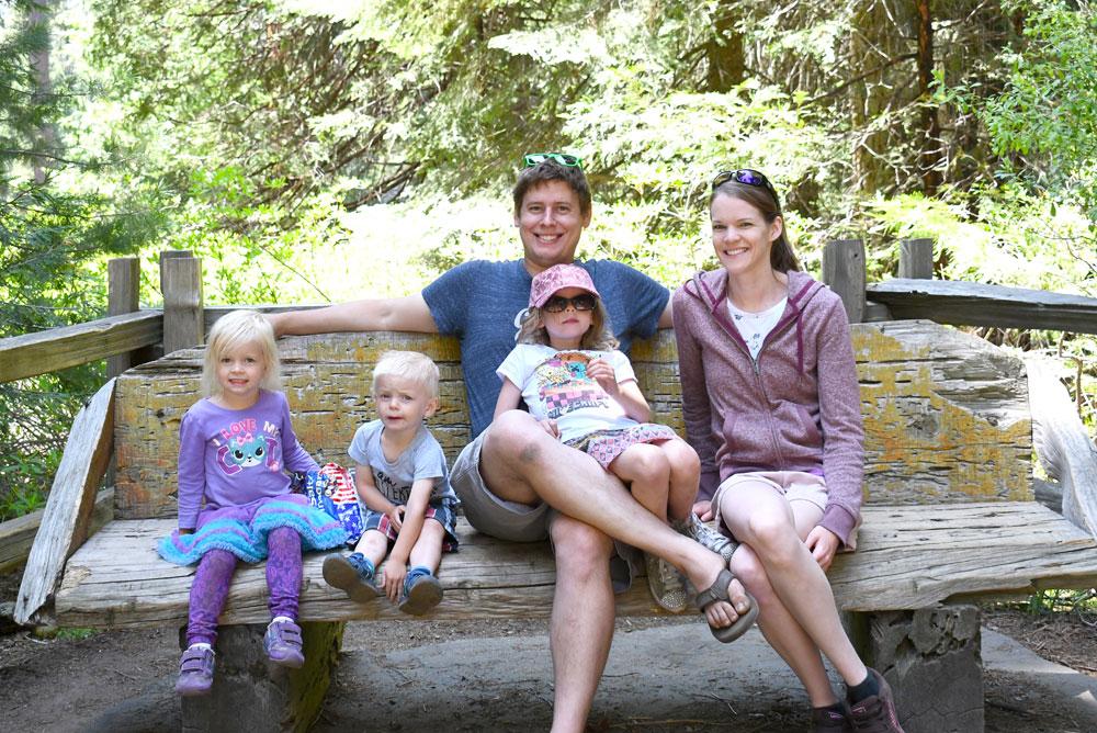 California family adventure road trip snack break