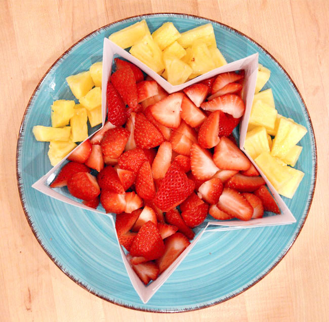 Create a DIY Star Shaped Fruit Platter