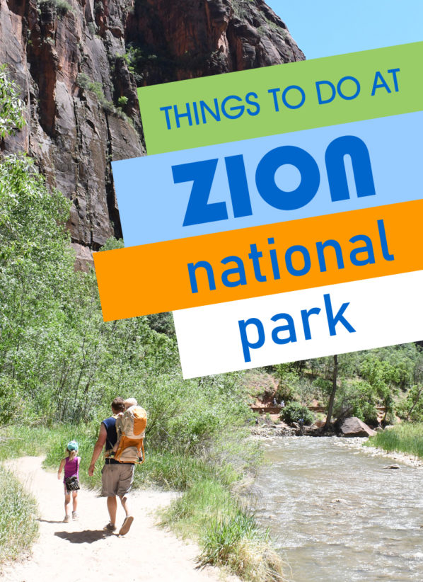 Family Adventure Hike Through Zion National Park