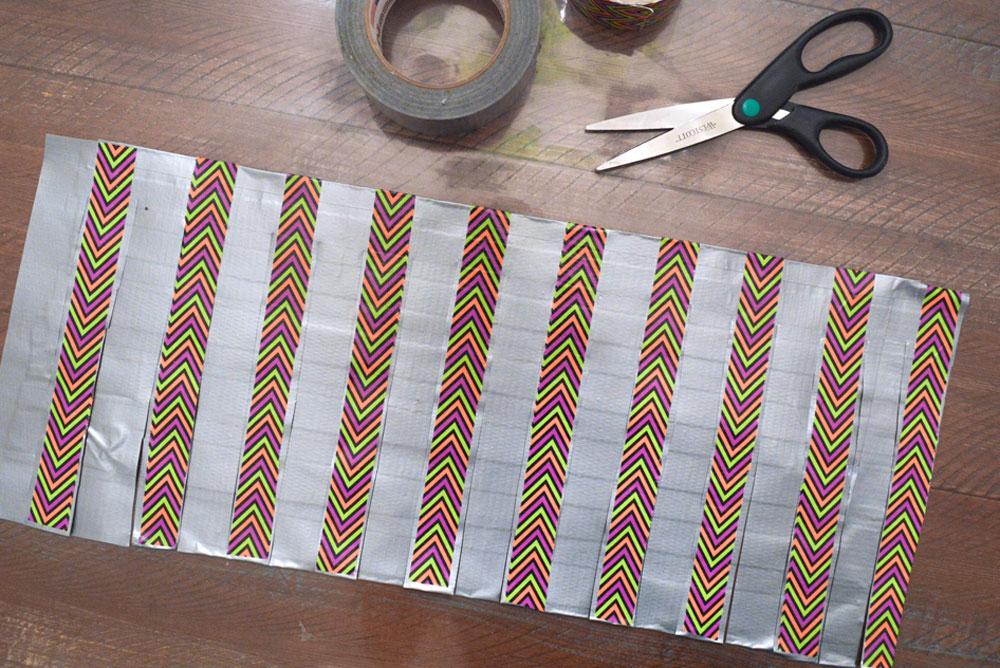 Fun DIY Duct Tape Skirt Kid's Activity
