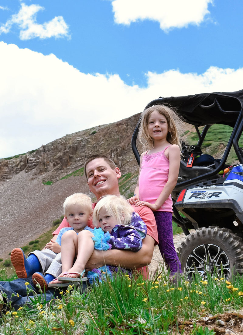 Off-Roading Family Adventure in Ouray Colorado