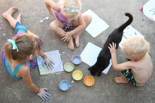 Eco-friendly Kids Art Supplies made from natural ingredients