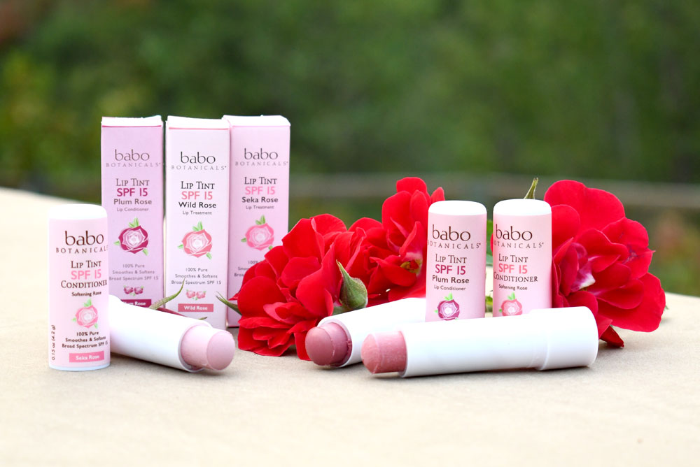Babo Botanicals Natural Lip Tints - Holiday Gift Ideas for Her
