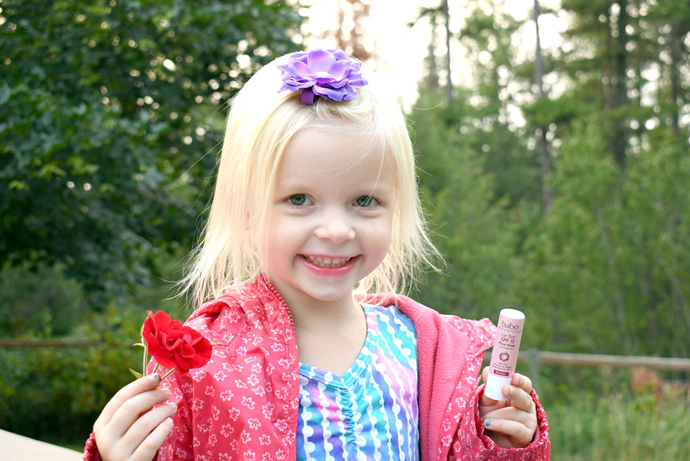 Pretty Babo Botanicals natural lip tints great for kids