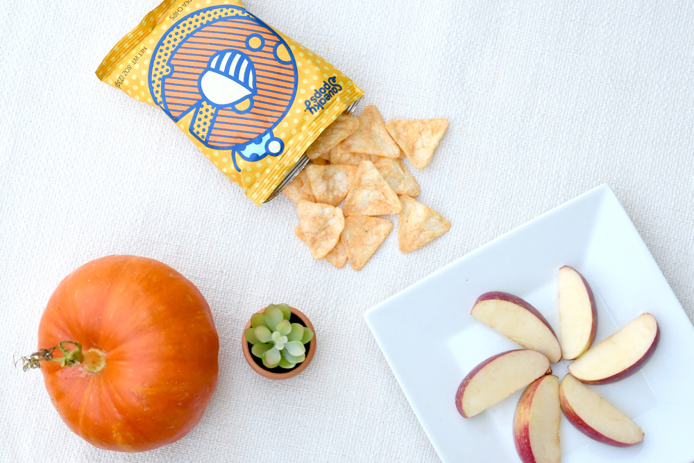 Back to School Snacks - Squeaky Pops chickpea chips