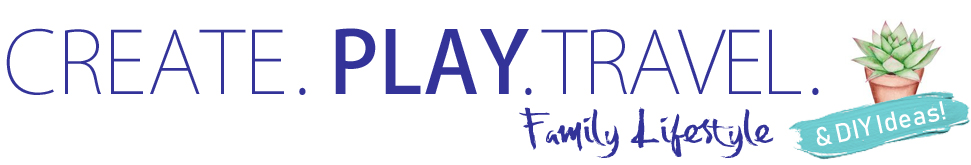 Create. Play. Travel. family lifestyle website