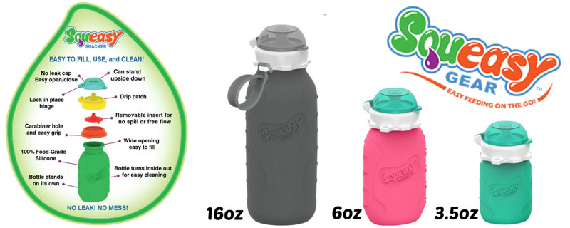 Squeasy Gear silicone food pouches - in US Japan Fam's $600 Value Fall Family Favorites Giveaway