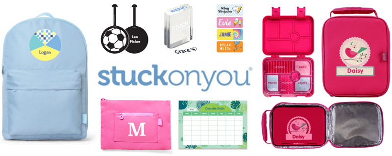 Stuck On You personlized items - in US Japan Fam's $600 Value Fall Family Favorites Giveaway