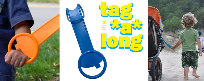 Prize: 2 tag*a*long handles. a $20 value. tagalongkids.com