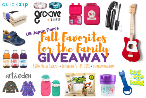 Fall Favorites for the Family Giveaway – Ends 9/19