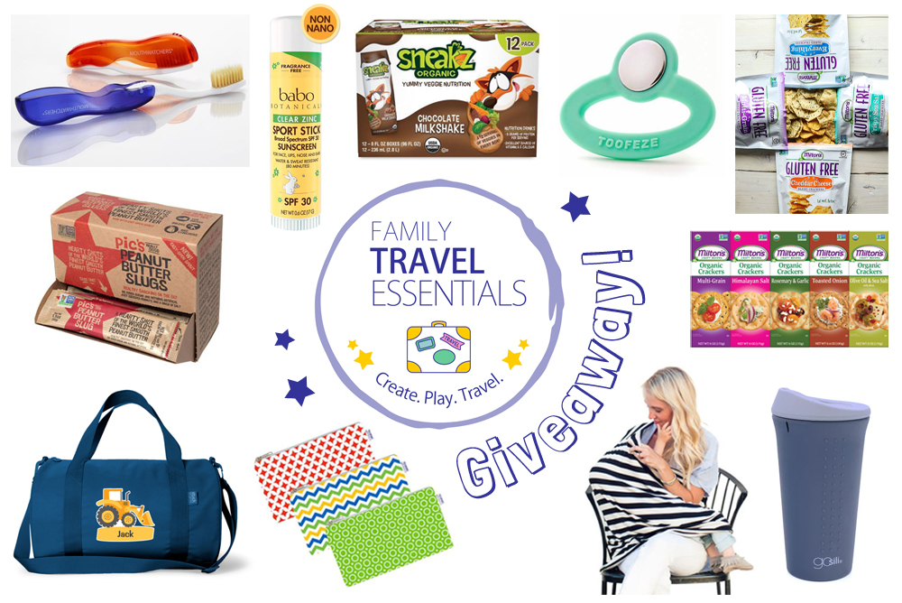 Family Travel Essentials Giveaway & Prizes