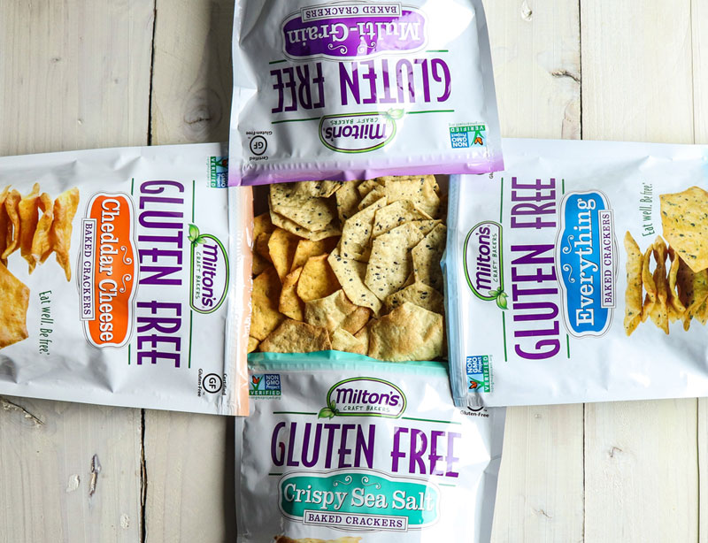 Family Travel Essentials - Milton's Gluten Free Crackers