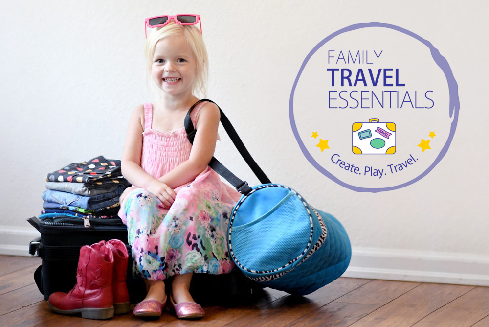Family Travel Essentials & Giveaway!