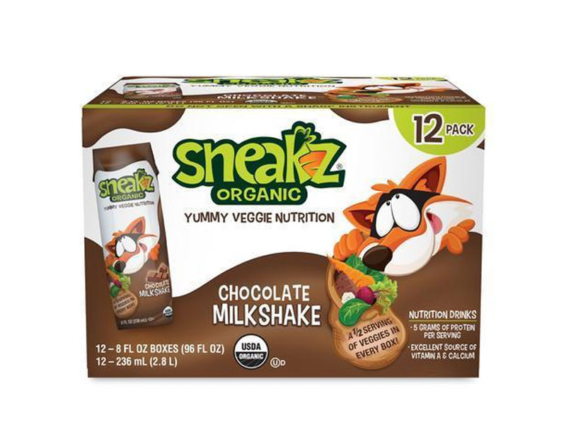 Family Travel Essentials - Sneakz Organic Milkshakes