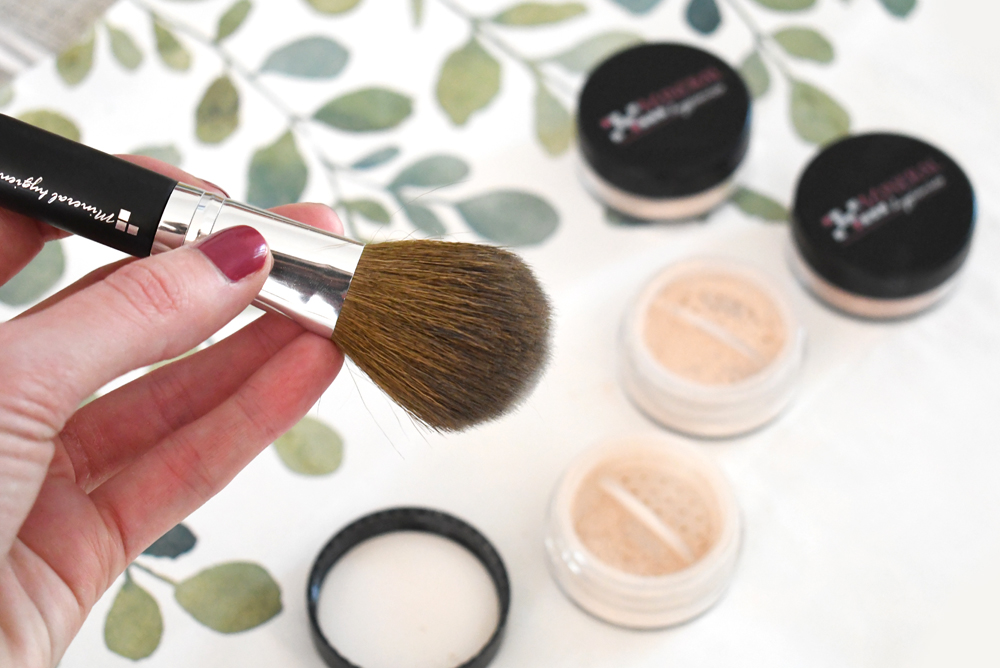 Mineral Hygienics natural finishing powder and foundation
