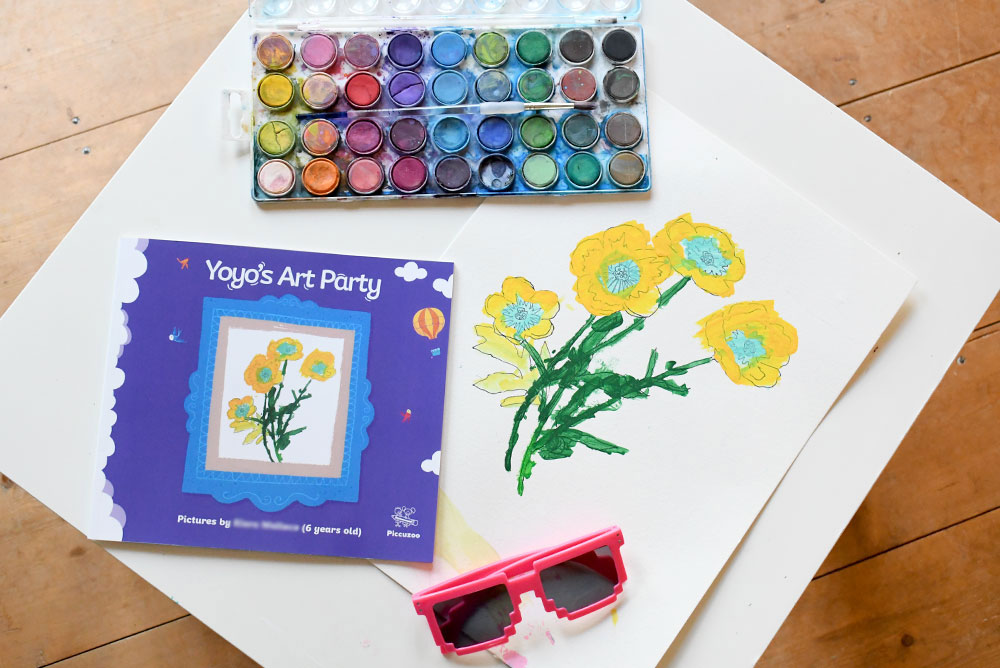 Customize a Storybook With Your Child's Art
