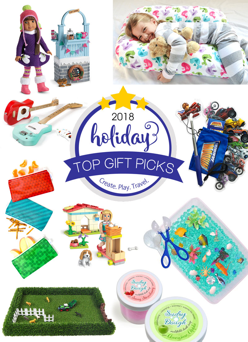 2018 Kids Holiday Gift Guide - Create Play Travel