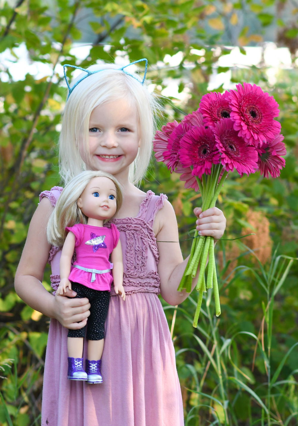 American Girl WellieWishers Camille 14in doll
