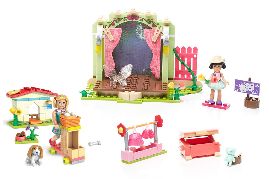 American Girl Mega Construx play sets - Create Play Travel Kids Holiday Gift Guide