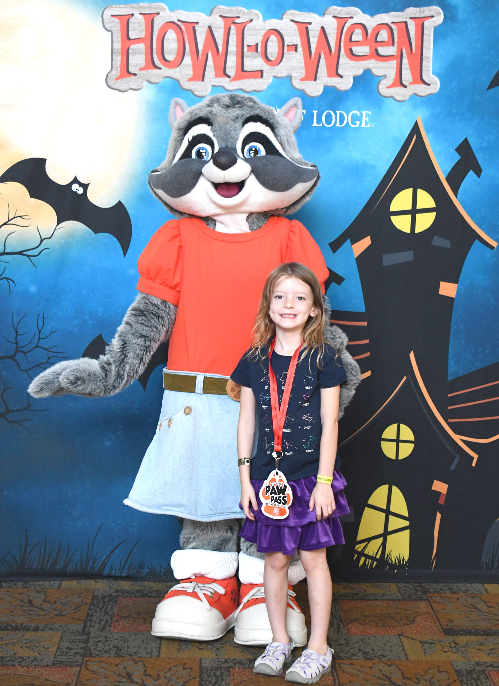 Family weekend at Great Wolf Lodge Howl-o-ween Celebration
