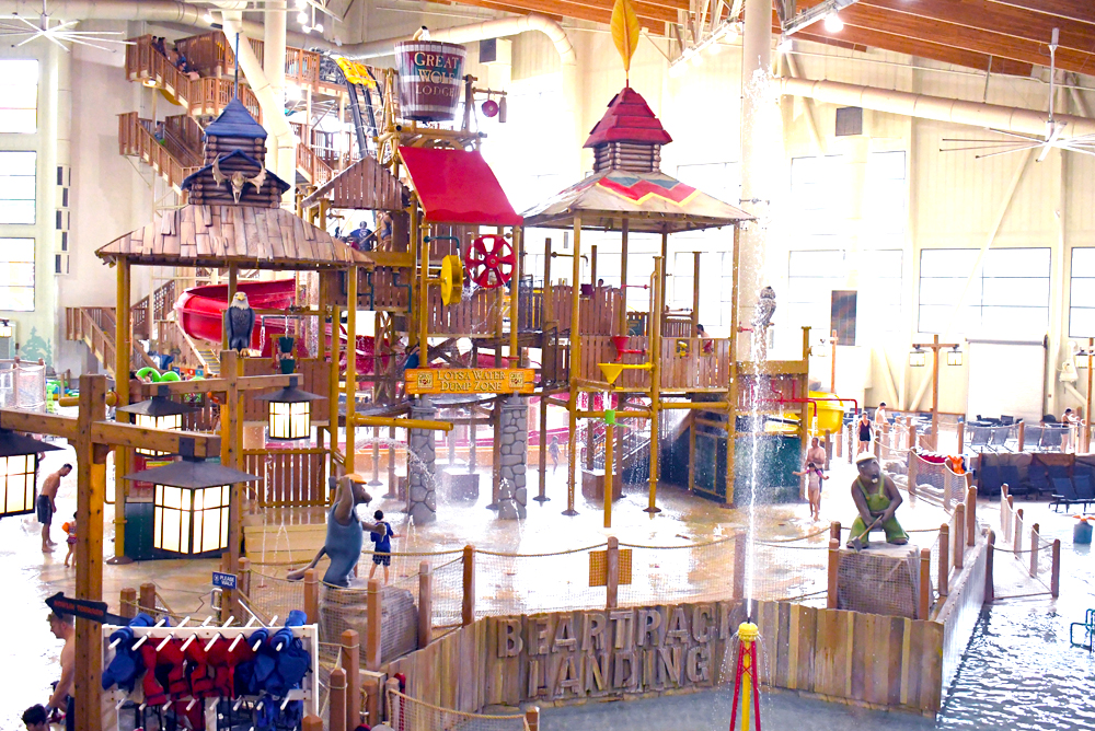 Great Wolf Lodge Grand Mound water park