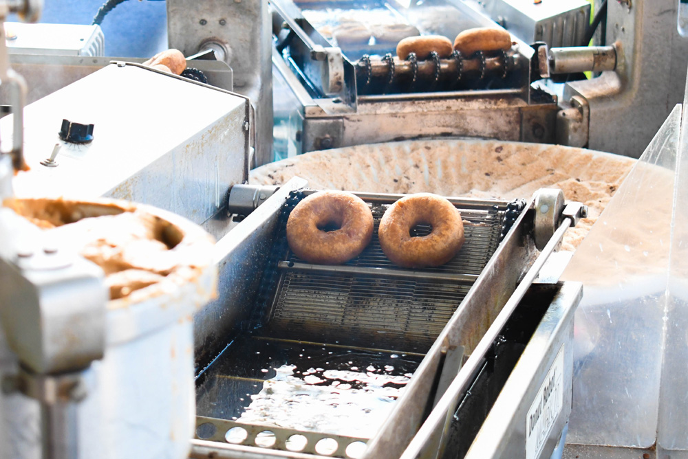 Green Bluff Becks Harvest House Fresh Pumpkin Doughnuts - Things To Do at Your Local Pumpkin Farm