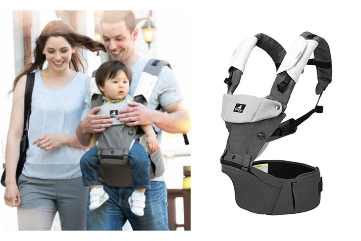 Huggs Contour Carrier is an innovative baby carrier built for versatility - Baby Holiday Gift Guide