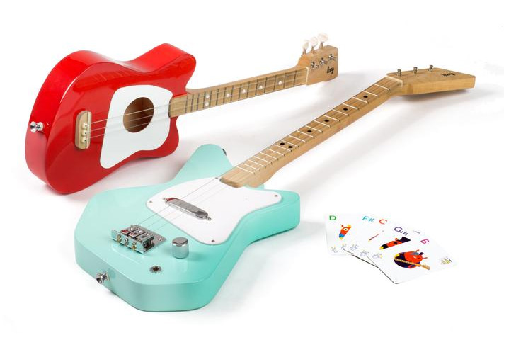 Loog Guitar for kids - Create Play Travel Kids Holiday Gift Guide