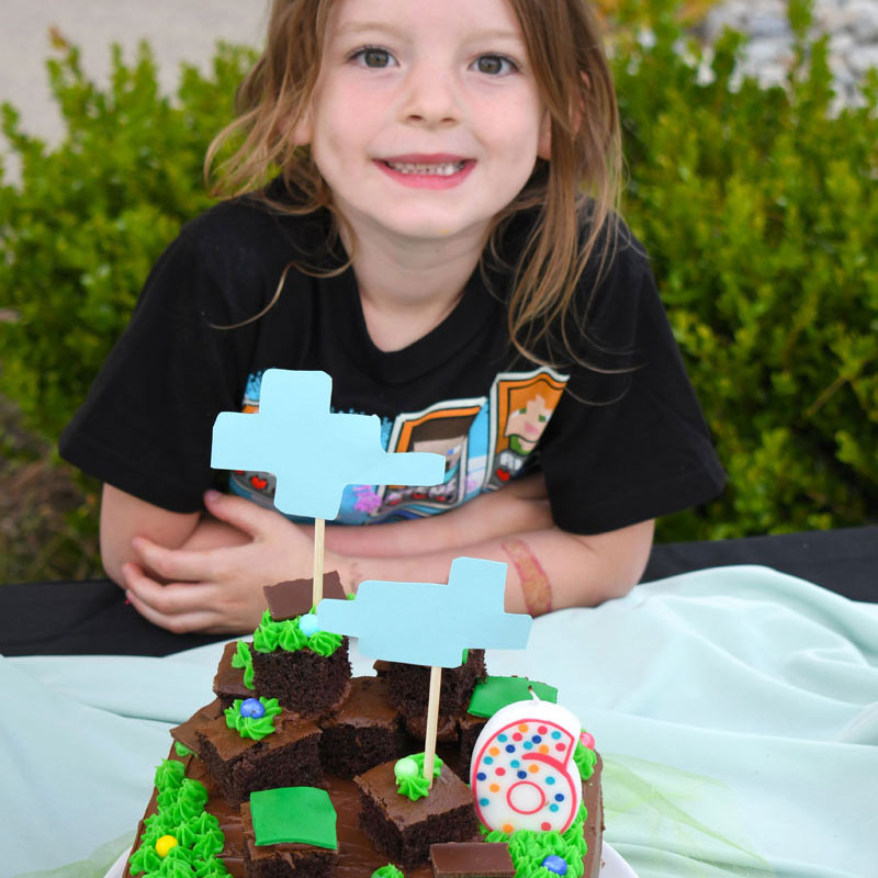 Easy Kids Minecraft Birthday Party Ideas