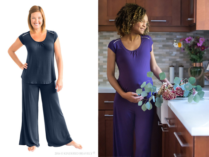 Kindred Bravely Amelia Nursing and Maternity Pajamas - Holiday Gift Ideas for Her