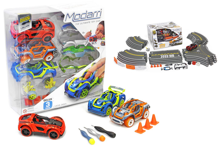 Award-winning Modarri cars fuel a child's creativity and learning as they develop their fine motor skills