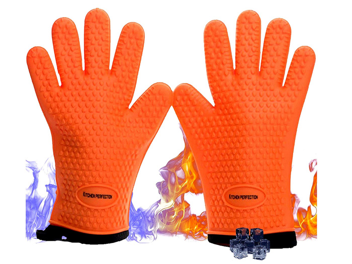 Extreme Heat Resistant Washable Mitts - Gift ideas for him