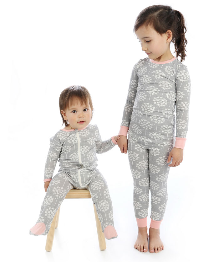 Silkberry Baby Bamboo Footies w/Easy Dressing Zipper - Baby Holiday Gift Guide