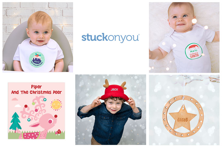 cute and practical gift ideas from Stuck On You - Baby holiday gift ideas