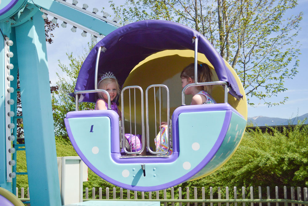 Silverwood Theme Park Kiddy Wheel