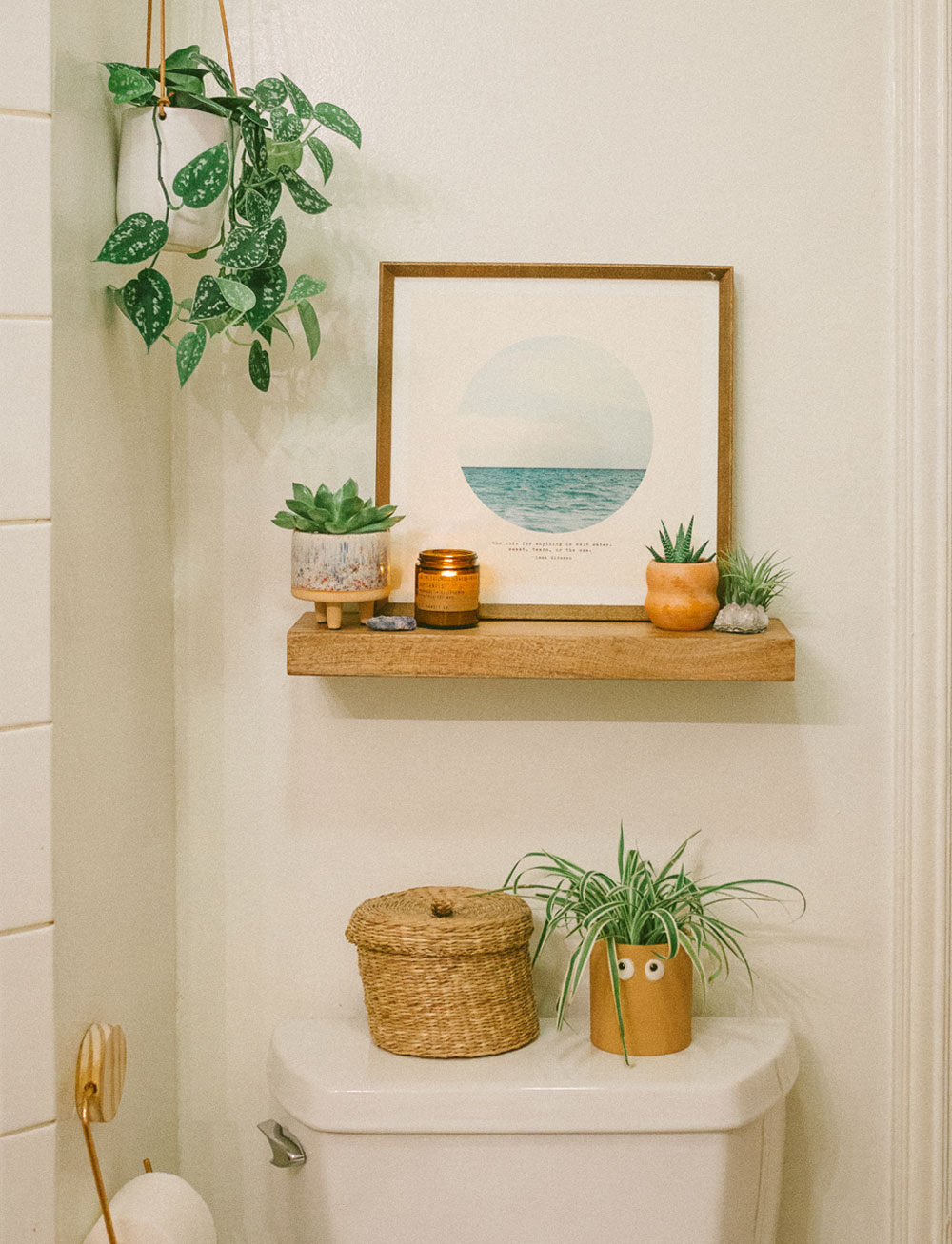 Decorate your Bathroom with Succulents