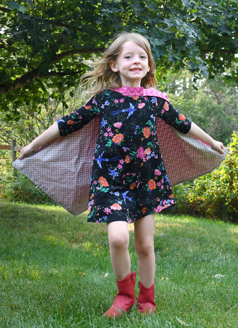 DIY Superhero Capes Easy Sewing Project
