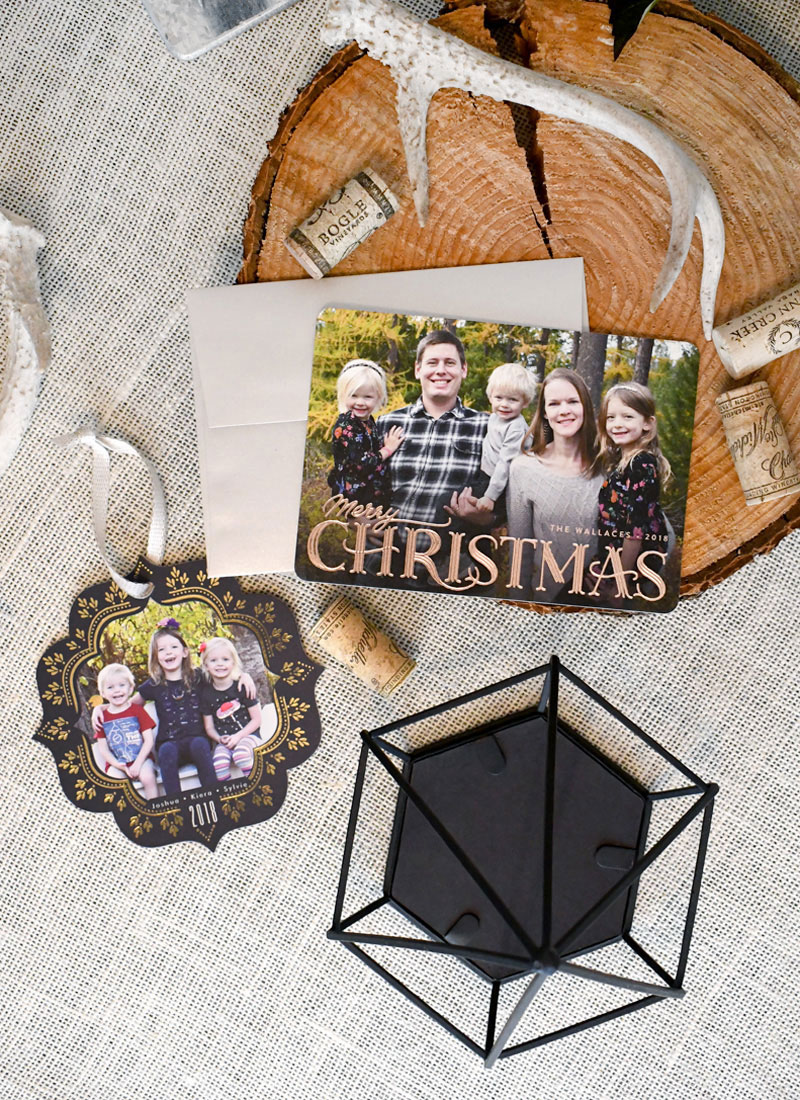 Gorgeous personalized holiday card keepsakes from Minted