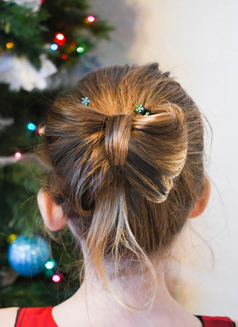 How to make a Bow Hair Style