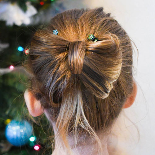 How to Create an Adorable DIY Bow Hair Style