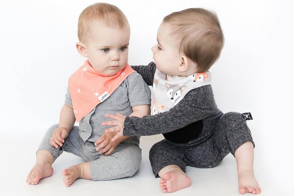 Matimati Baby bandana bibs are stylish and practical
