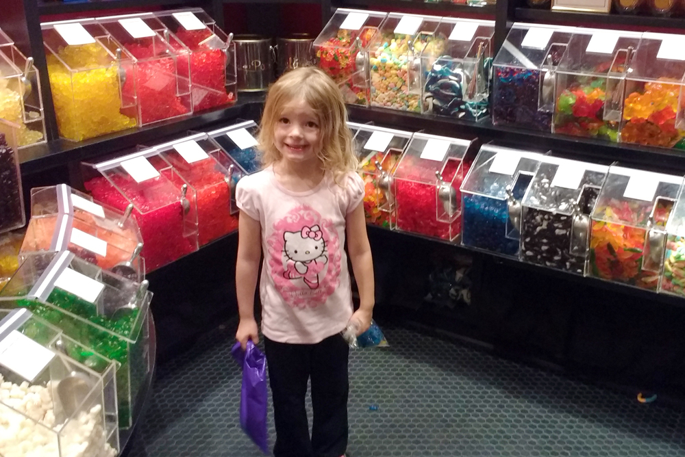 Lolli and Pops candy store visit Alderwood Mall in Seattle