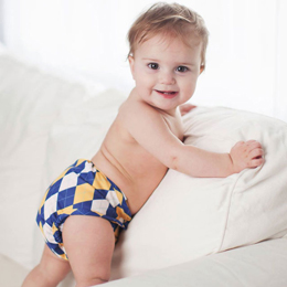 2016 Green Scene Mom Awards Buttons Cloth Diapers