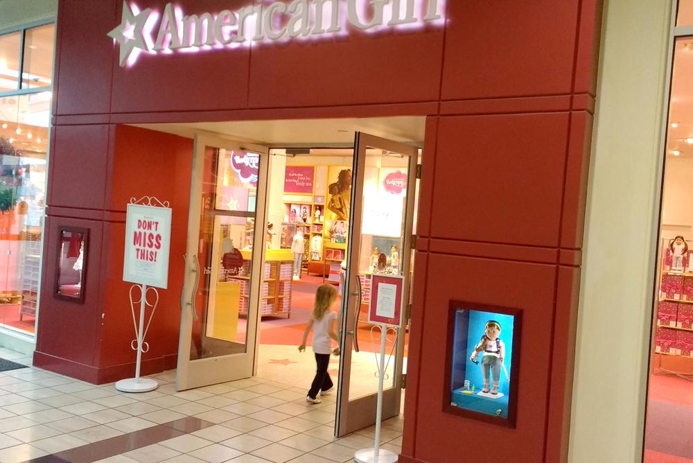 Alderwood Mall American Girl Store near Seattle
