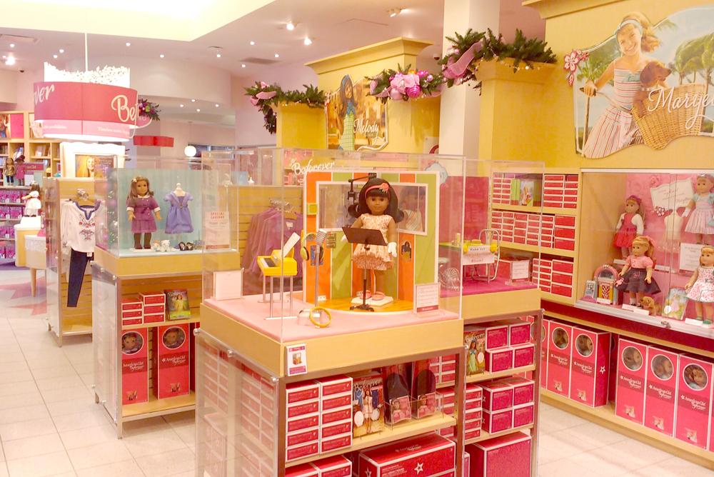 American Girl Store in Alderwood Mall near Seattle