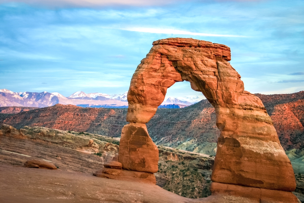 Best places for hiking - Arches National Park UT